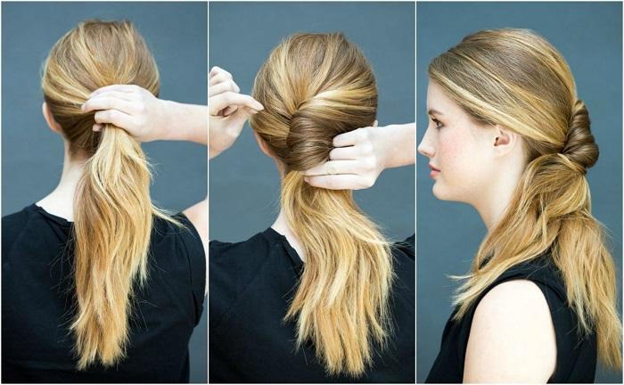 các kiểu tết tóc đẹp tự làm 4
