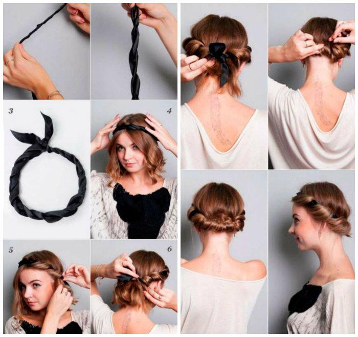 các kiểu tết tóc đẹp tự làm 6