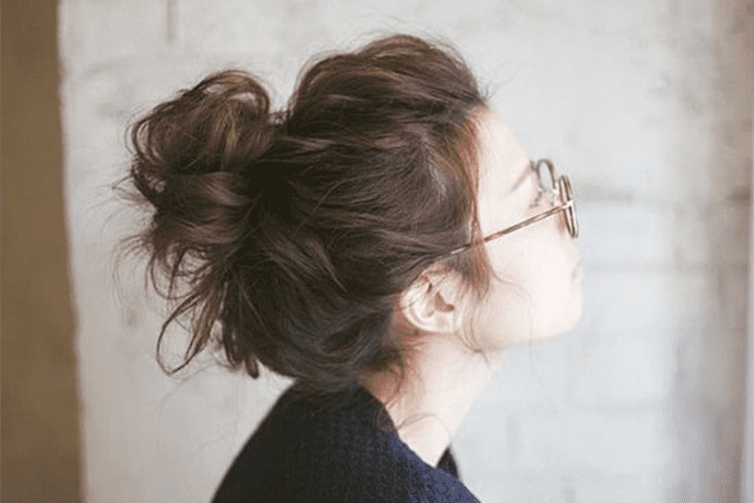 Cách búi tóc nhanh gọn