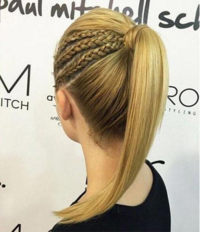 Tết tóc 3 nhánh mini