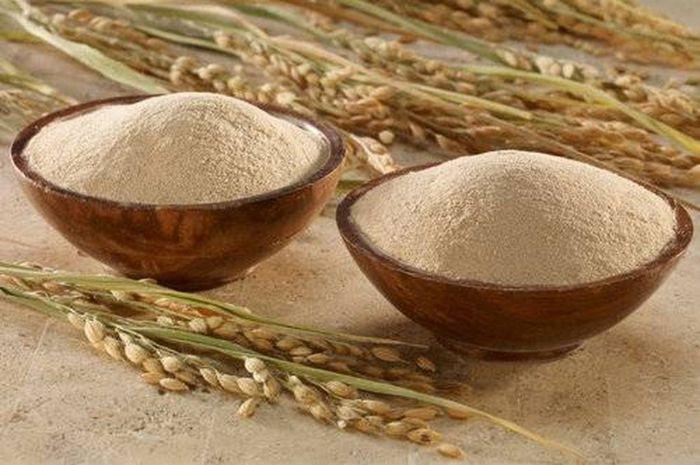 Cám gạo trắng da