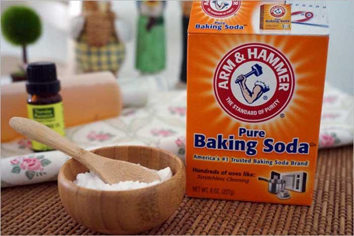 Muối và baking soda để tẩy trắng răng