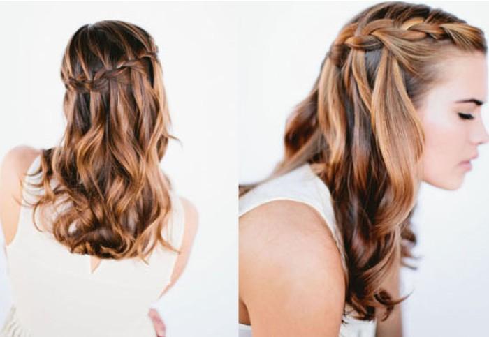 Tết tóc thác nước