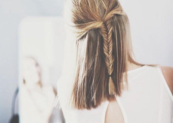 Tết tóc kiểu xương cá
