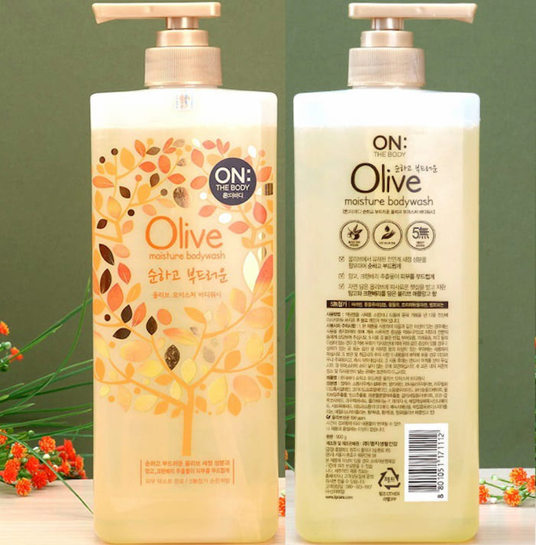 On The Body Olive Moisture Body Wash
