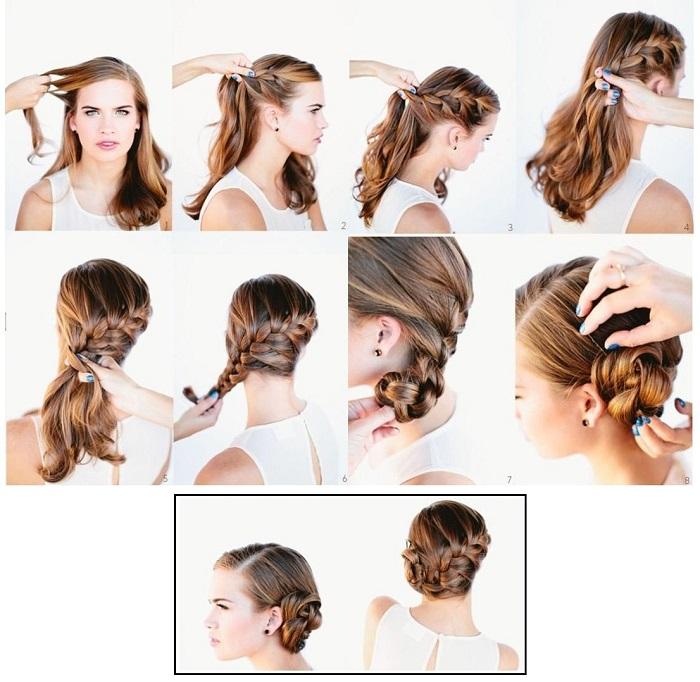 tết tóc dài đơn giản 6