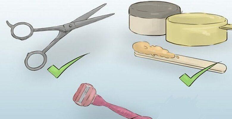 Cách tỉa lông mu