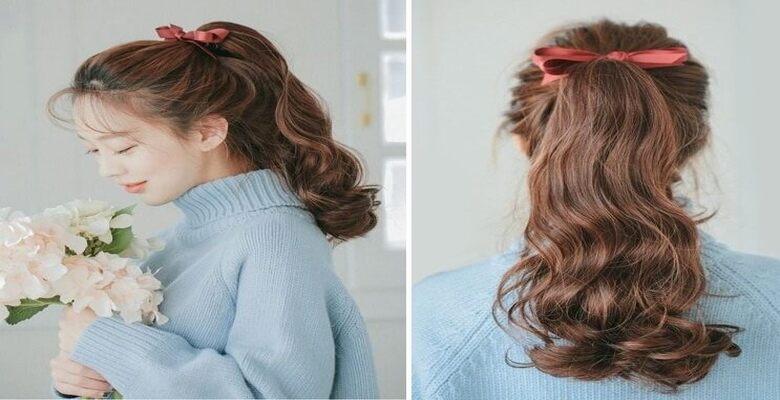 Không nên buộc tóc quá chặt khiến tóc gãy rụng nhiều