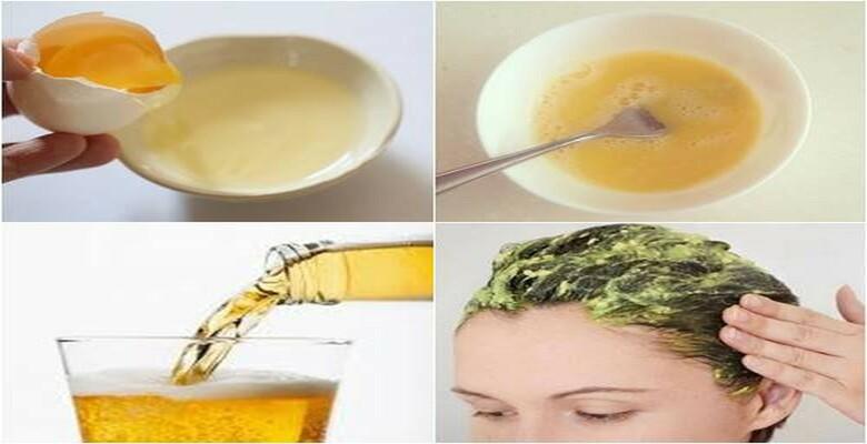 Mật ong, trứng và sữa chua dưỡng tóc