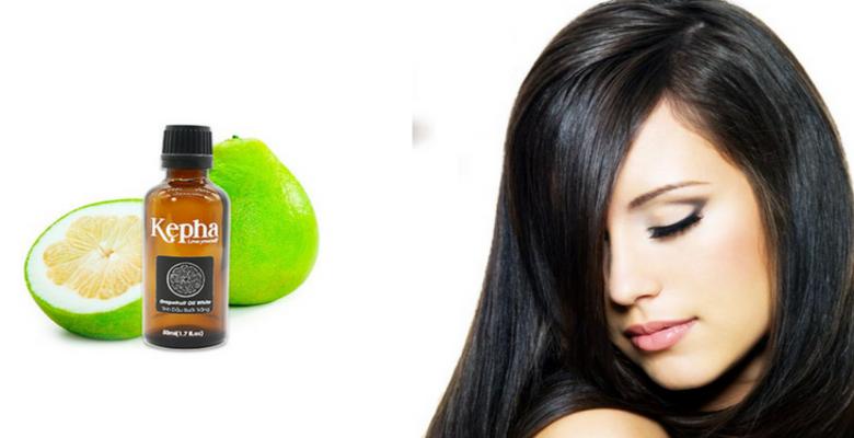 Tinh dầu bưởi chứa nhiều dưỡng chất nuôi dưỡng tóc chắc khỏe, nhanh dài