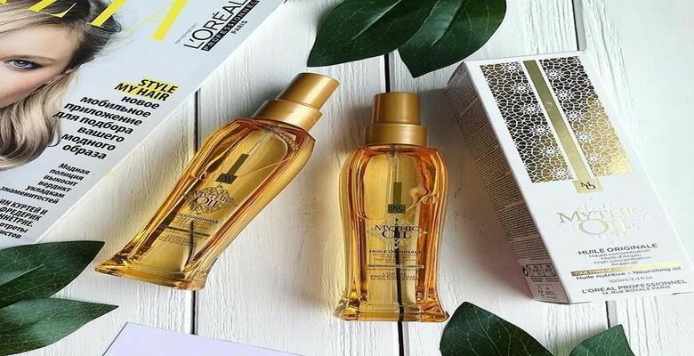 Tinh dầu dưỡng Loreal mythic Oil giúp phục hồi tóc hư tổn nhanh chóng