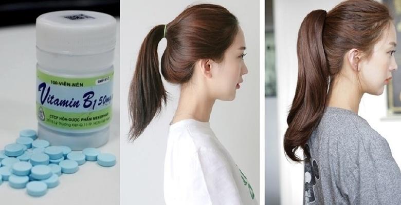 Vitamin B1 giúp nuôi dưỡng tóc mọc nhanh và hạn chế gãy rụng