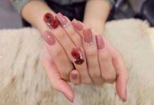 Photo of Những mẫu nail hoa nổi đẹp giúp bộ móng xinh lung linh
