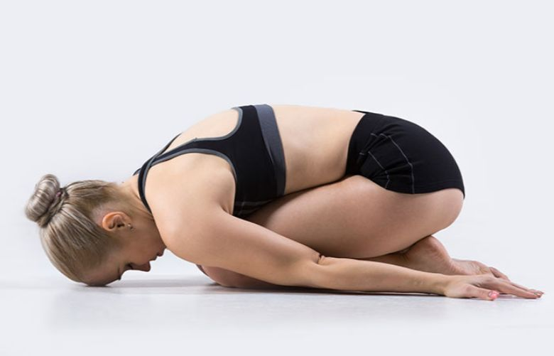 Bài tập Yoga Balasana (Child Pose)