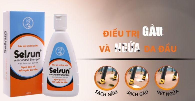 Bạn vẫn nên sử dụng dầu gội Selsun khi đã hết gàu
