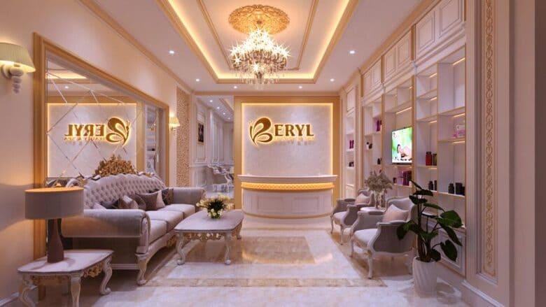 Beryl Beauty & Spa luôn giành được điểm số tuyệt đối về không gian, công nghệ và phong cách phục vụ tận tình