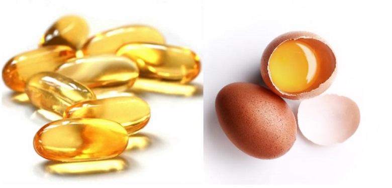 vitamin E và trứng gà