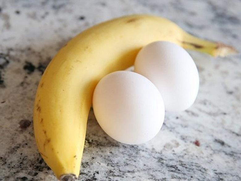 Trứng và chuối