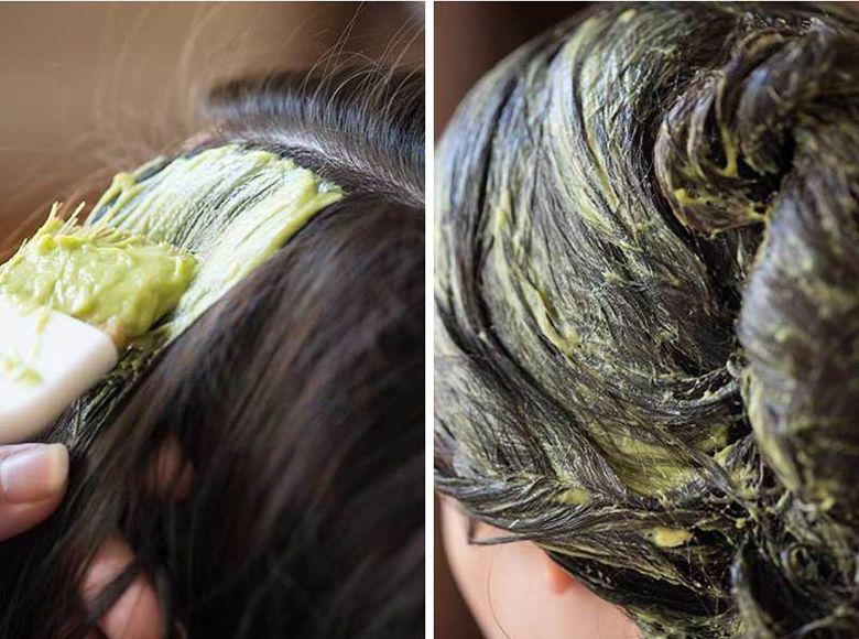 Dưỡng tóc với quả bơ cải thiện tình trạng tóc chẻ ngọn