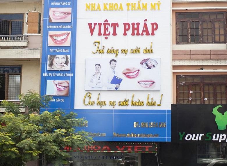 Địa chỉ tẩy trắng răng tại Đà Nẵng Nha khoa Việt Pháp