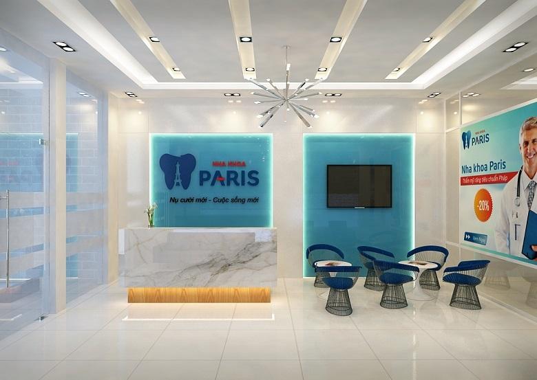 Địa chỉ tẩy trắng răng Nha khoa Paris