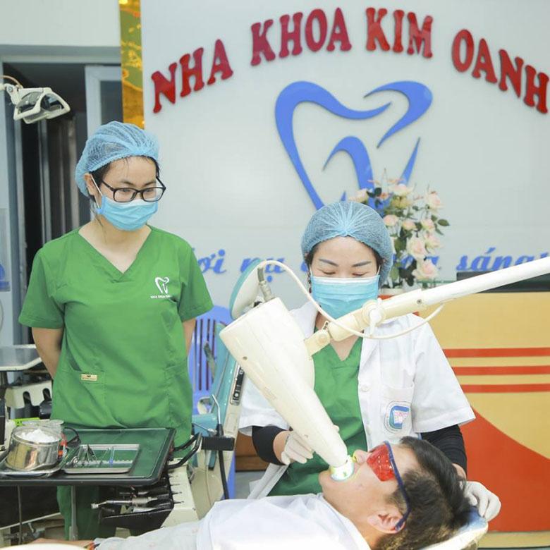 Địa chỉ tẩy trắng răng nha khoa Kim Oanh