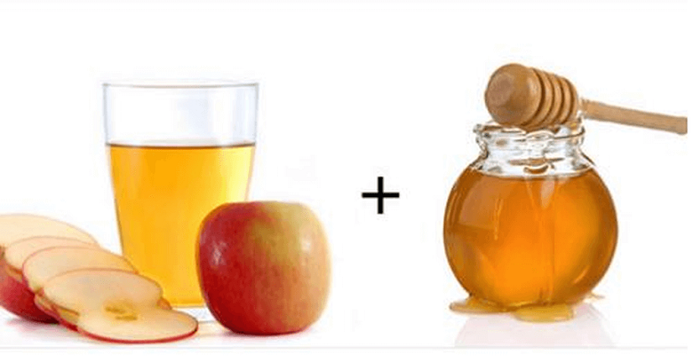 Giấm táo mật ong