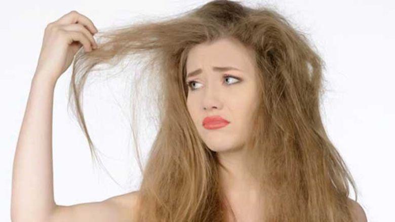 Nguyên nhân khiến cho đuôi tóc khô xơ