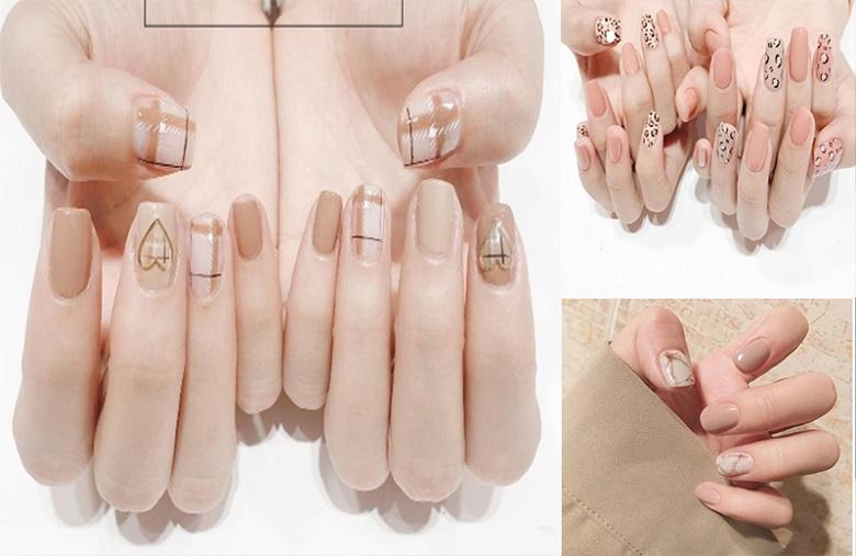 Những kiểu sơn móng tay đẹp