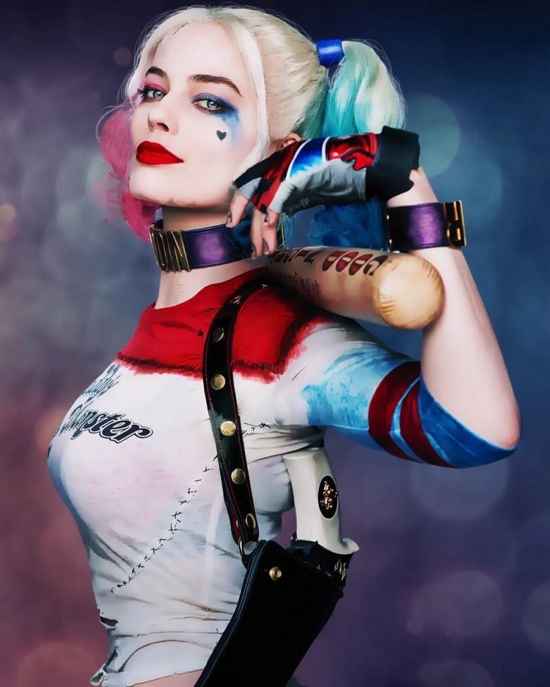 Nhuộm tóc Harley Quinn