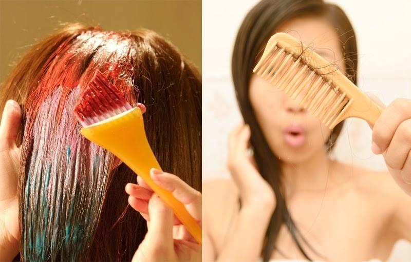 Nhuộm tóc có khiến tóc rụng không?