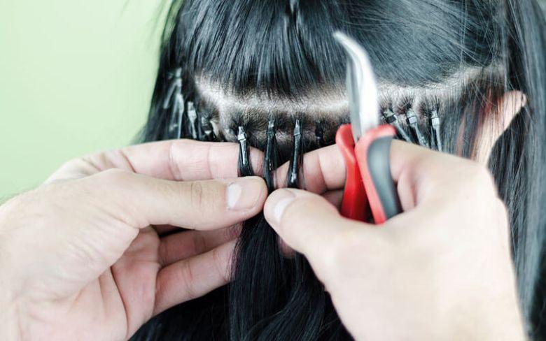 Nối tóc bằng kẹp chì