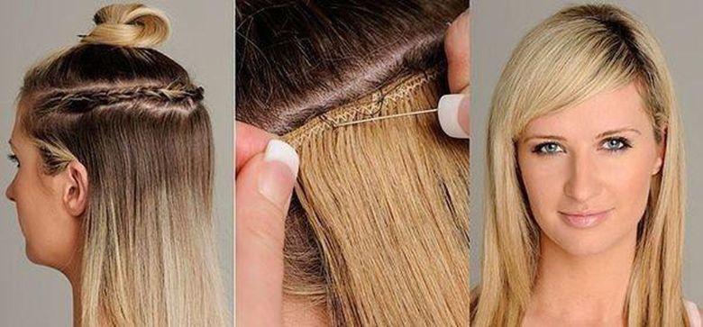 Nối tóc bằng nối tết