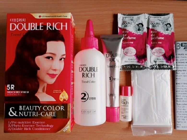 Thuốc nhuộm chứa nhiều dưỡng chất tốt cho tóc