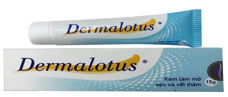 Thuốc Dermalotus trị sẹo thâm muỗi đốt