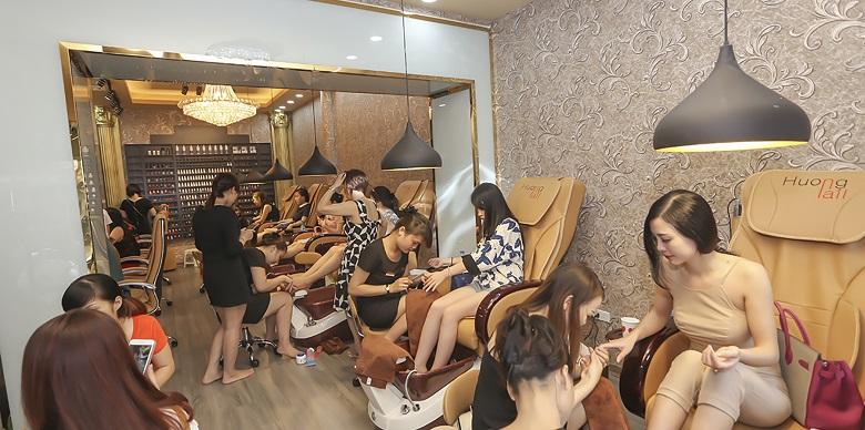Hương Nail nổi tiếng tại Hà Nội