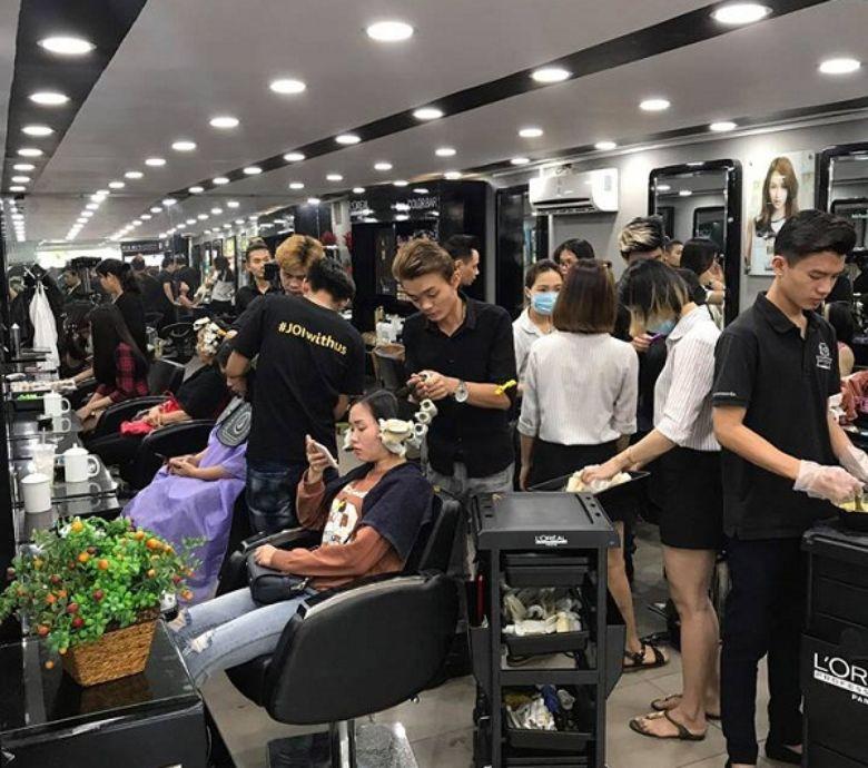 Salon tóc gần Phú Mỹ Hưng - Beauty Salon Huy Nguyễn