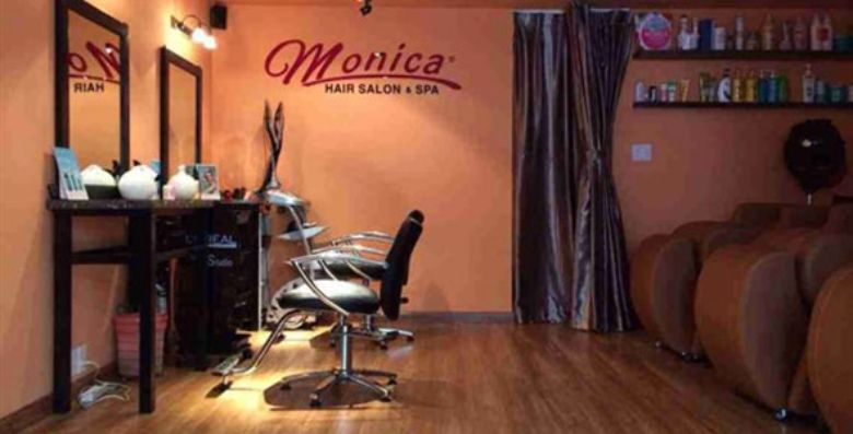 Monica Salon & Spa là salon nổi tiếng với nhiều dịch vụ đa dạng