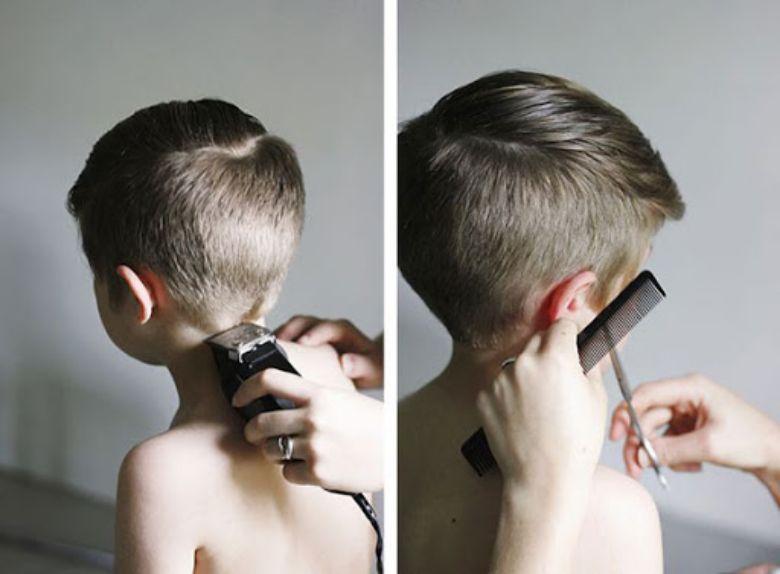 Kiểu tóc cho bé trai 3 tuổi