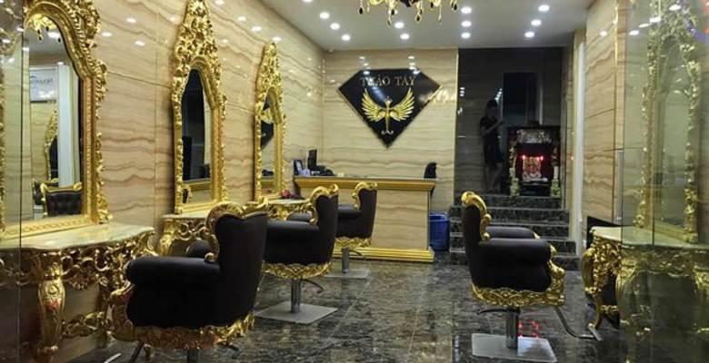 Salon tóc ở TPHCM chuyên nghiệp Thảo Tây
