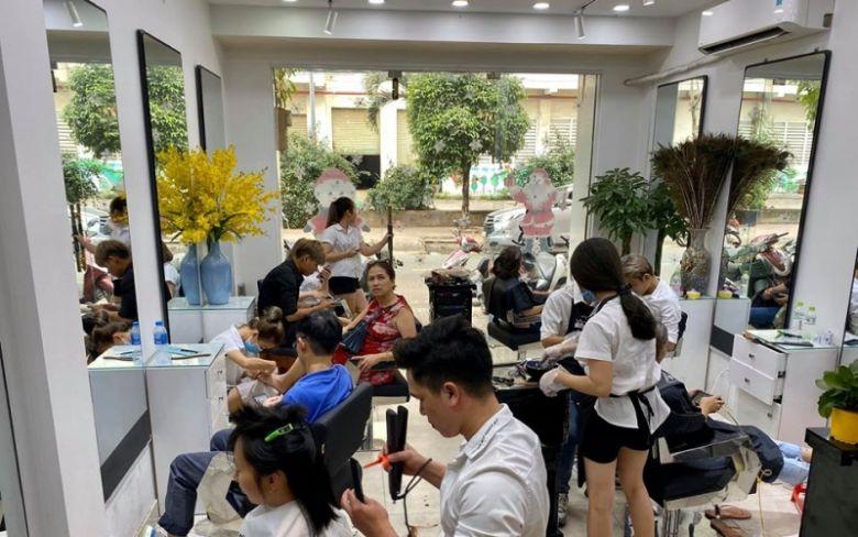 Salon tóc gần phú mỹ hưng