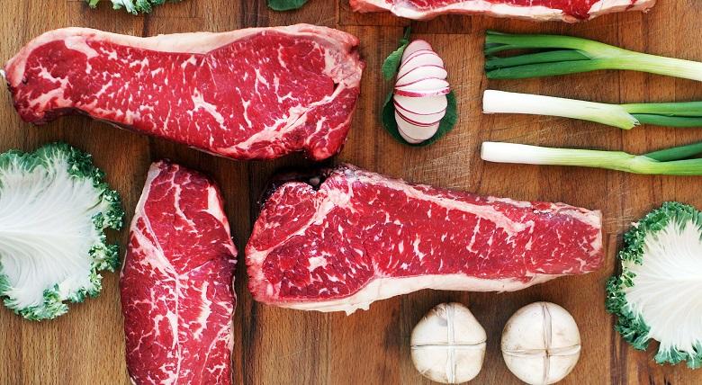 Thịt bò là thực phẩm giàu collagen