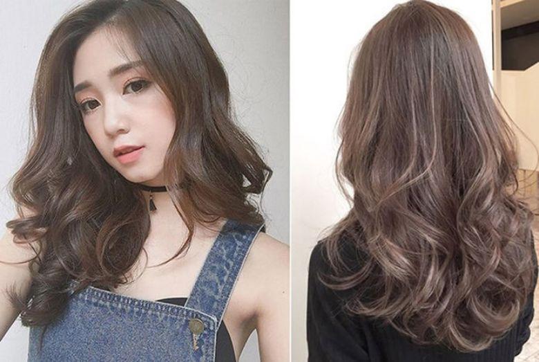 Kiểu tóc phù hợp với khuôn mặt vuông