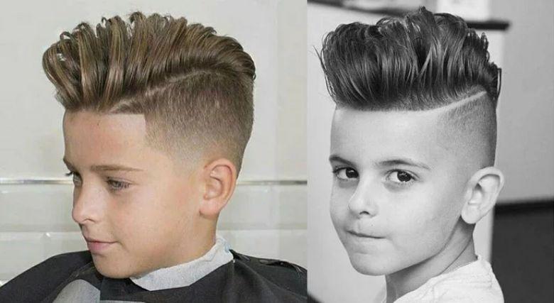 Undercut là kiểu tóc cho bé trai 3 tuổi được nhiều phụ huynh lựa chọn