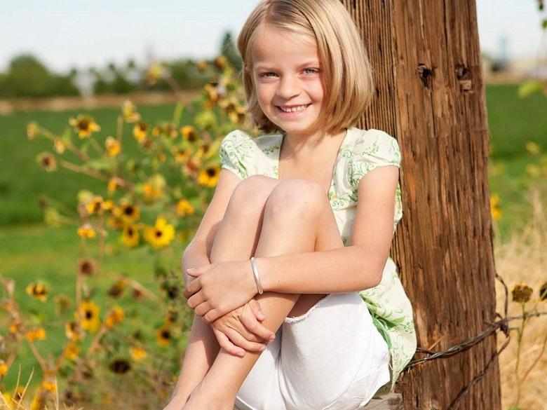 Tóc ngắn cho bé gái