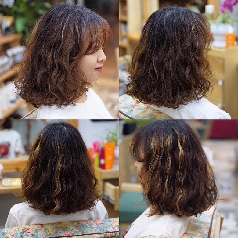 Mái tóc tạo vẻ trẻ trung, năng động cho cô nàng