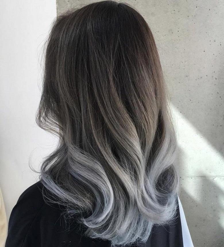 da ngăm đen nên nhuộm tóc màu gì để sáng da