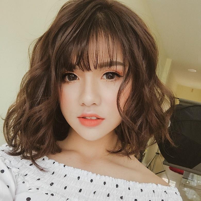 Kiểu tóc ngắn đẹp giúp khuôn mặt trở nên hài hòa