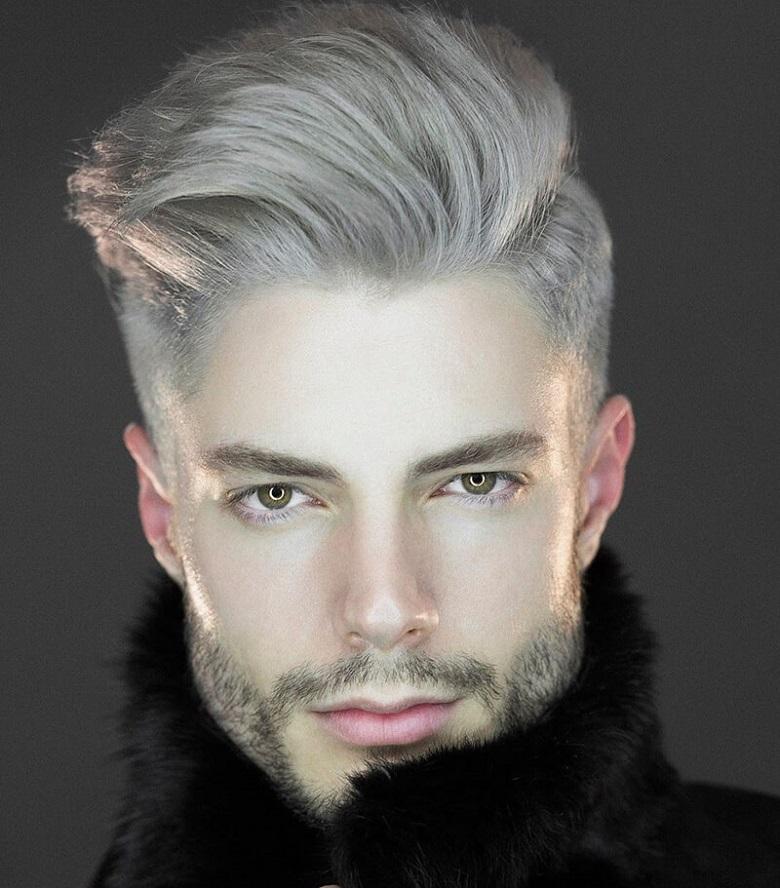 Mẫu tóc mang lại vẻ nam tính, thanh lịch