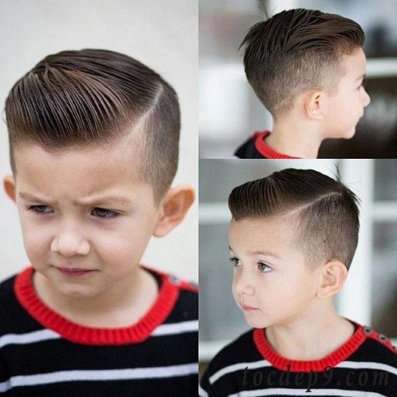 Một mẫu tóc mang hơi hướng cổ điển và vô cùng lịch lãm